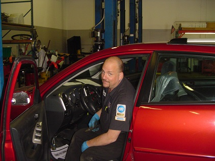 Aaron, our ASE Master Technician...